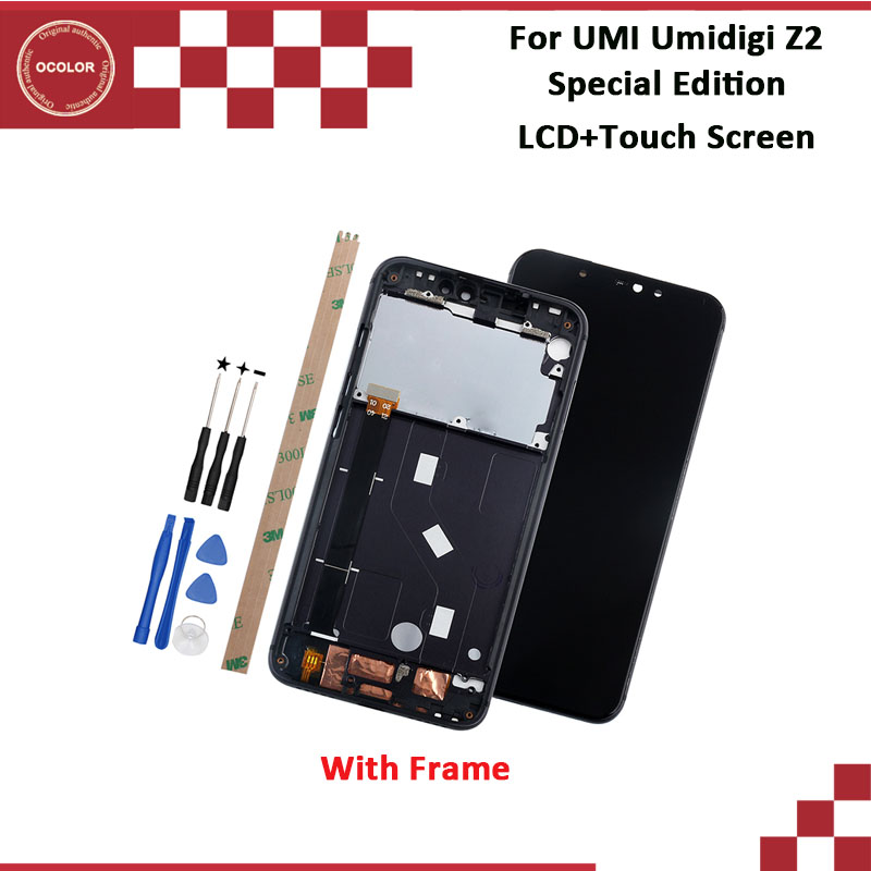 ocolor For UMI Umidigi Z2 Special Edition LCD Display And Touch Screen 6 2 100 New