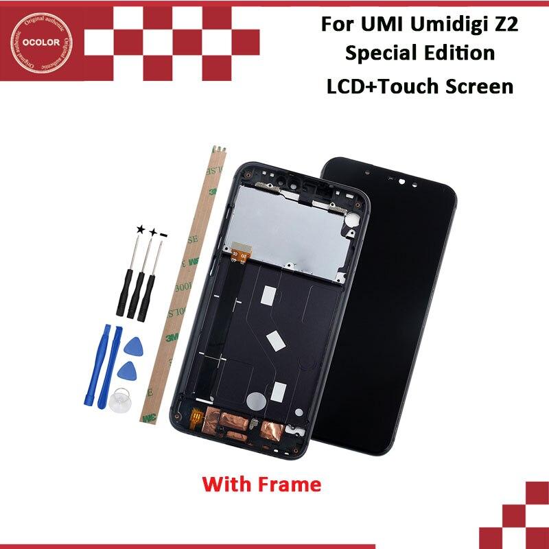 Ocolor สำหรับ UMI Umidigi Z2 พิเศษ Edition จอแสดงผล LCD และ Touch Screen 6.2 ''100% ใหม่ทดสอบประกอบกับกรอบเครื่องมือ-ใน จอ LCD โทรศัพท์มือถือ จาก โทรศัพท์มือถือและการสื่อสารระยะไกล บน AliExpress - 11.11_สิบเอ็ด สิบเอ็ดวันคนโสด 1