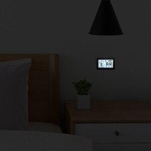 Image 4 - Draadloze Weerstation Touch Screen Thermometer Hygrometer Indoor Outdoor Wifi Weerbericht Sensor Klok 20C 60C