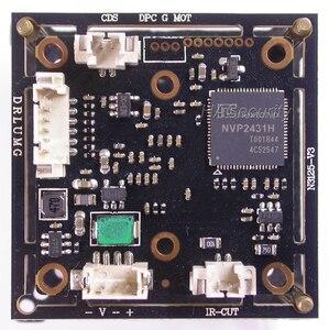 """Image 3 - AHD M (720 P) 1/3 """"IMX225 の Exmor cmos イメージセンサー NVP2431 CCTV カメラの pcb ボードモジュール + OSD ケーブル + CS LEN + IRC (UTC サポート)"""