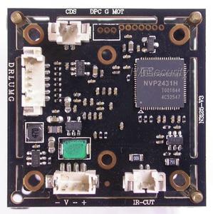 "Image 3 - AHD M (720P) 1/3"" Exmor IMX225 CMOS image sensor NVP2431 CCTV camera PCB board module +OSD cable +CS LEN +IRC (UTC support)"