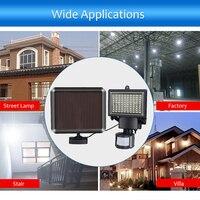 Garden Courtyard IP44 3.7V 3.5W LED Solar Powered PIR Motion Sensor Sensitive Light Control Wall Lamp Human Infrared Induction