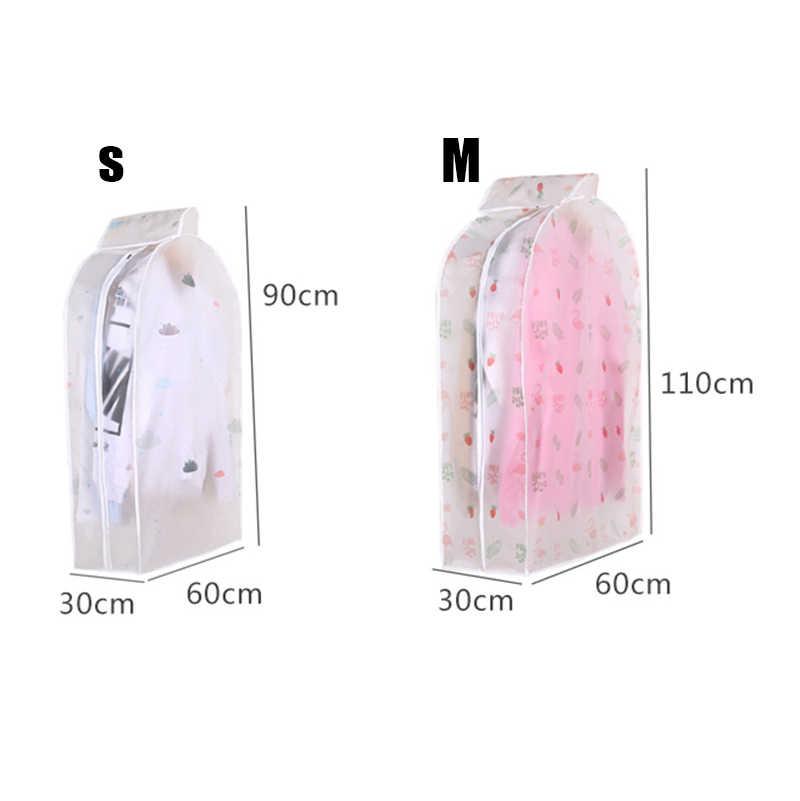 Di grandi dimensioni Vestiti Della Copertura per Abbigliamento Vestito di Vestito Cappotto di Panno Coperture antipolvere Trasparente Stereoscopico Copertura Abbigliamento CON Flamingo Modello