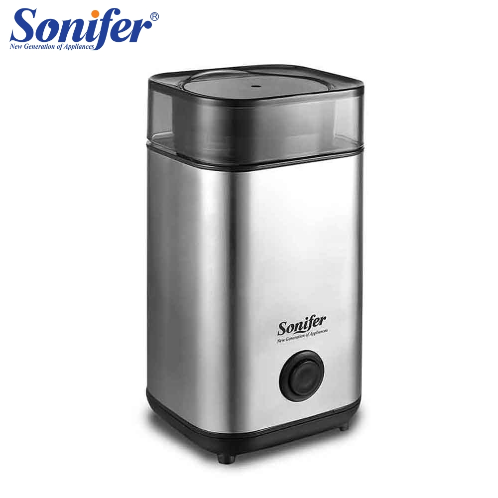 220V Original Mini Electric Coffee Grinder maker Stainless Steel Beans Mill Herbs Nuts Sonifer220V Original Mini Electric Coffee Grinder maker Stainless Steel Beans Mill Herbs Nuts Sonifer
