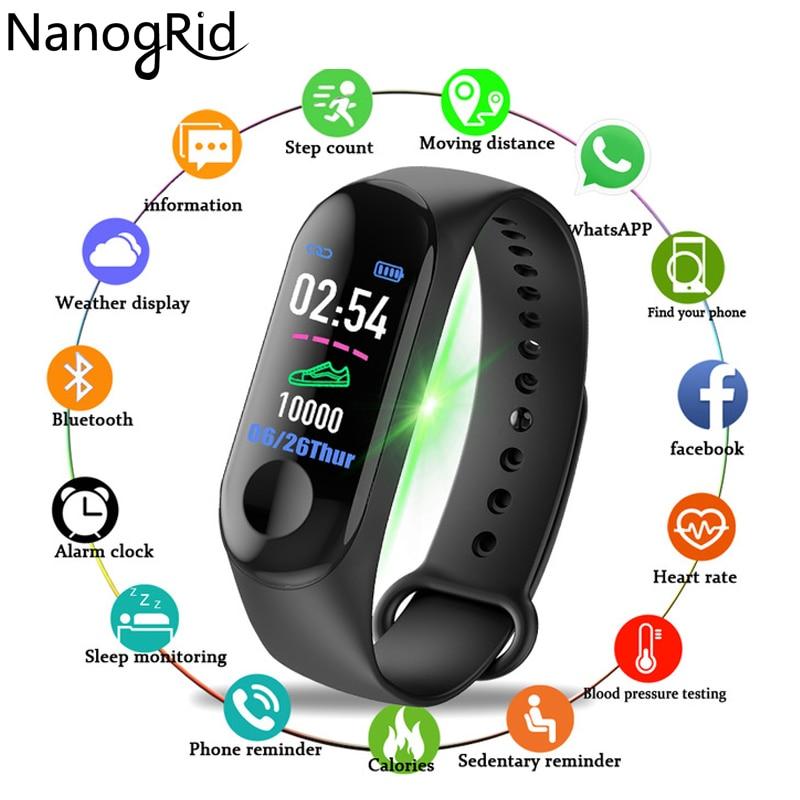 Color Screen Smart Watch Sport Fitness Bracelet IP68 Waterproof Blood Pressure Oxygen Activity Tracker For Men