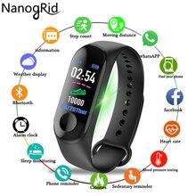 Цвет Экран Smart Watch Sport Фитнес браслет IP68 Водонепроницаемый крови Давление кислорода трекер для Для мужчин Для женщин часы