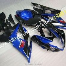 Для Suzuki GSXR1000 2005 2006 K5 Комплект кузова GSX-R1000 05 06 GSXR 1000 синяя черная обшивка для мотоцикла(литье под давлением