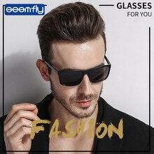 Seemfly Classic Quality Oversized Sunglasses Alloy Men Sunglasses Polarized Brand Design Pilot Male Sun Glasses Driving все цены