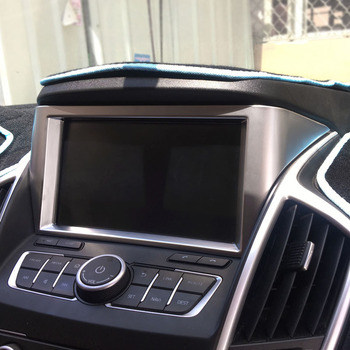 1pc for dongfeng AX7 2015-2017 Navigation Decoration frame