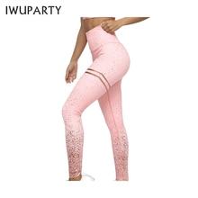 Для женщин Звездное печатных градиент спортивные Леггинсы Push up Booty штаны для йоги Mujer стрейч Высокая Талия тренажерный зал Фитнес Legins тренировки колготки