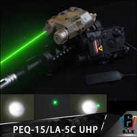 Element Softair Waffe Taktische Surefir Eine Peq Grün Laser EINE PEQ-15/LA-5C UHP Taschenlampe Mit Grün IR LED PEQ15 surfire Licht