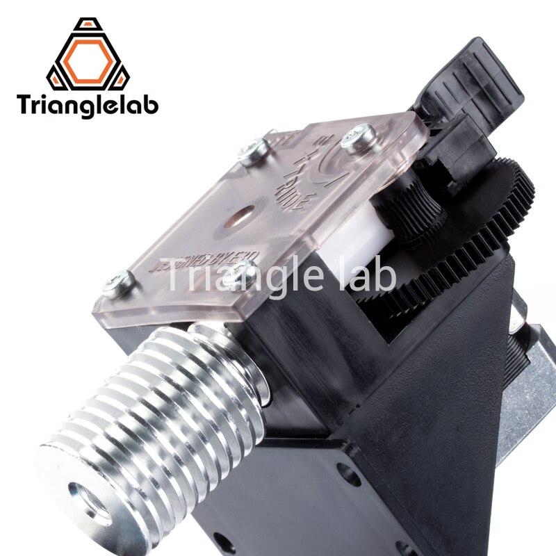 Trianglelab 3D drucker titan Extruder für desktop FDM drucker reprap MK8 J-kopf bowden freies verschiffen MK8 I3 montage halterung