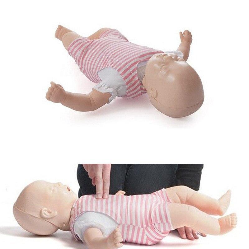 60cm CPR bebé Resusci entrenamiento infantil maniquí PVC modelo escolar educativo bebé Resusci modelo medicina ciencia herramienta de enseñanza nuevo