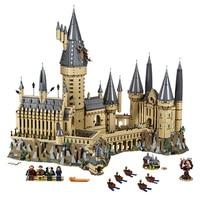 Гарри фильм Поттер Хогвартс замок модель здания Конструкторы Совместимость legoings 71043 16060 кирпичи игрушечные лошадки Рождественский подарок