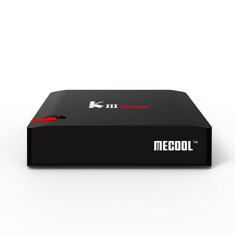 MECOOL KIII Pro Smart TV Box Amlogic <font><b>Octa</b></font> Core S912 3 gb 16 gb <font><b>DVB</b></font>-<font><b>T2</b></font> <font><b>DVB</b></font>-S2 <font><b>Android</b></font> 7.1 Newcam Biss Schlüssel TV Box image