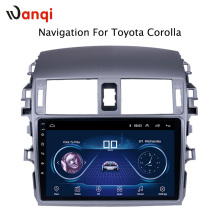 9 inch factory android 8.1 car dvd player For Toyota Corolla 2007-2013 with audio radio multimedia gps navigation system