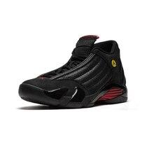wholesale dealer cb8e7 10f0f Jordan aire Retro 14 XIV negro gris rojo zapatos de baloncesto Mens medio  Heights