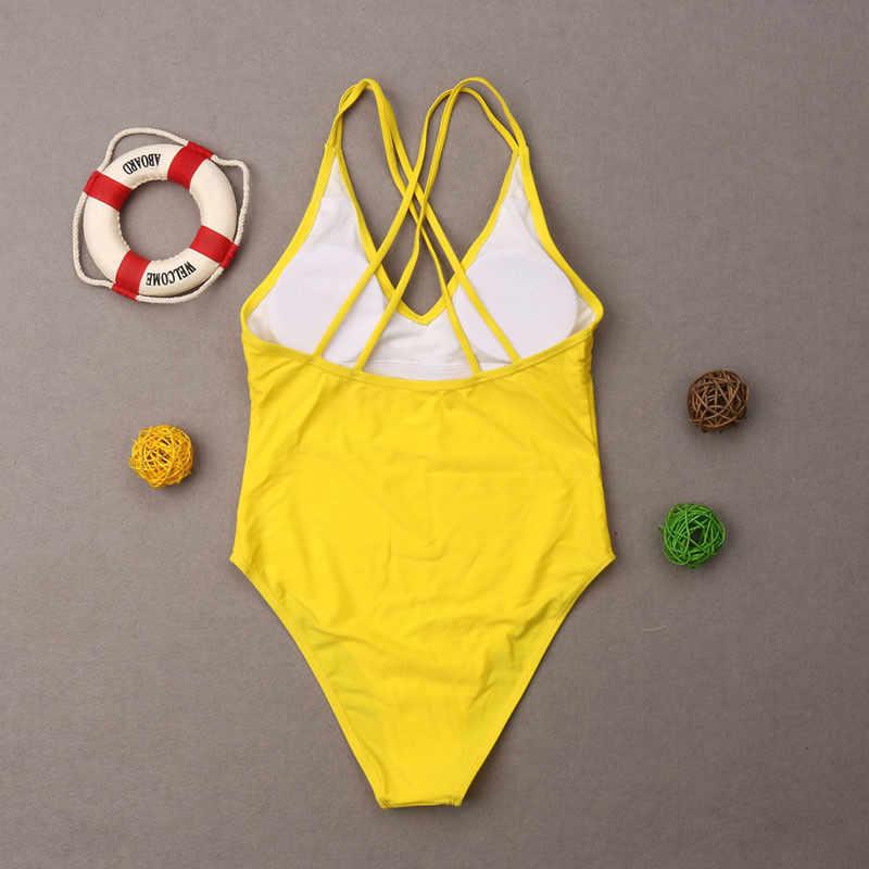 087ec668c03 ... 2019 New Summer Family Matching Swimsuit Women Girls Mom Kids Baby  Girls Letter Bathing Suit Swimwear