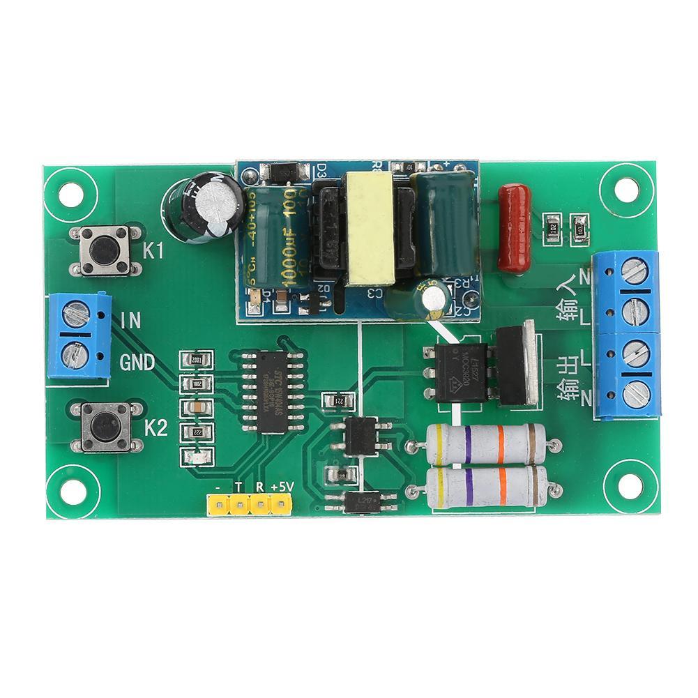 220V AC SCM PWM Dimming Voltage Regulation Speed Temperature Control Thyristor Serial Port Adjustment Module YYAC-3 Professional