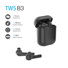 FLOVEME наушники-вкладыши TWS с B3 мини Беспроводной Bluetooth стерео наушники вкладыши гарнитура наушники с микрофоном для смартфонов гарнитура спортивный наушник