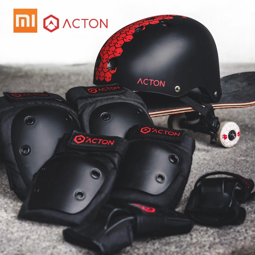 Xiaomi ACTON Sport Protection Gear Set Protective Outfit Helmet Elbow Knee Pad Glove Wrist Guard Set
