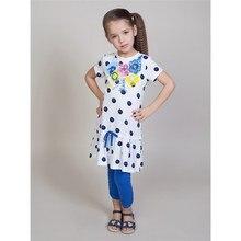 Комплект трикотажный Sweet Berry для девочек: платье, лосины