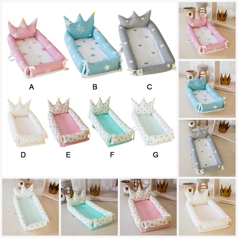 Baby Bedding Baby Portable Crib Removable Washable Travel Cot For Children Babies Children Cotton Crib 0-2YBaby Bedding Baby Portable Crib Removable Washable Travel Cot For Children Babies Children Cotton Crib 0-2Y