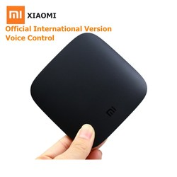 International Xiaomi TV BOX 3 Android 6.0 4K Ultra HD 2G 8G Smart Media Player 5G WIFI 4K 64Bit Set Top Box With Voice Control