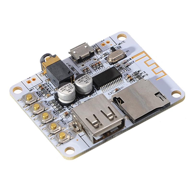LEORY MP3 Bluetooth Audio Receiver Digital Amplifier Decoding Board USB Port TF Card WMA Wireless Modules