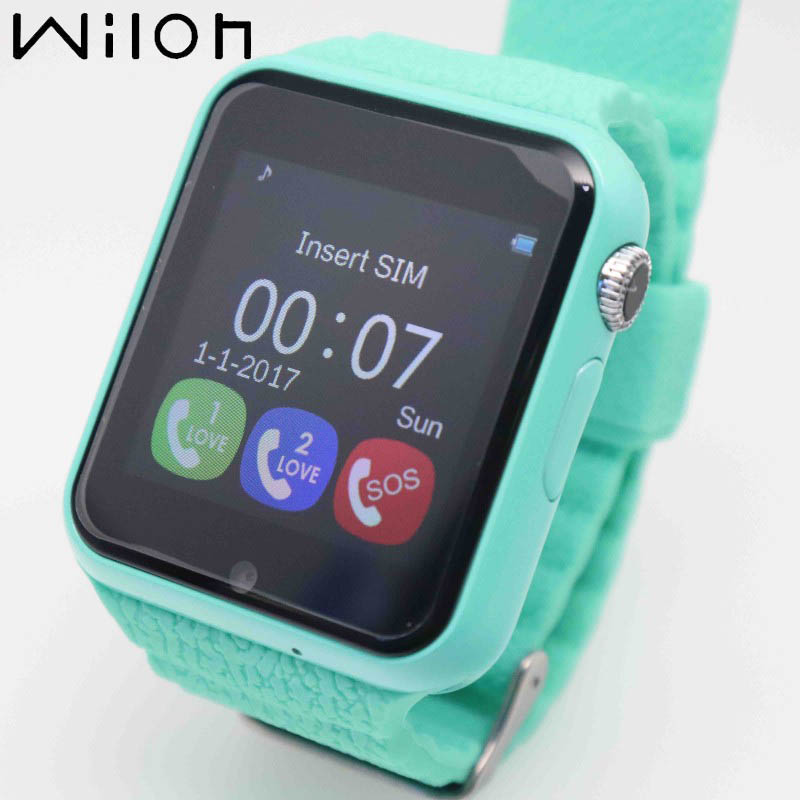 Kids watch with GPS tracker camera SOS Call waterproof smart watches Location Device Tracker Digital Children's Clock V7K-in Children's Watches from Watches    1