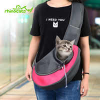 Carrier For Cat Pet Dog Sling Backpack Bag Breathable Travel Transport Carrying Bag for Kitten Puppy Small Cats Animals Handbags