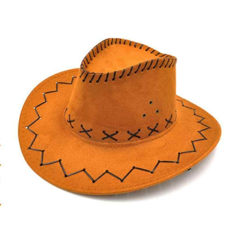 للجنسين راعية البقر قبعة رعاة البقر للطفل الاطفال صبي فتاة التصميم الكلاسيكي ملابس تنكرية للحفلات عادية قبعات للحماية من الشمس موضة رائجة البيع #05