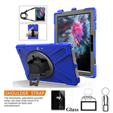 Case for New Microsoft Surface Go 10 Tablet Pencil Hold Kid Safe Shockproof Armor cover Hand Strap & Neck