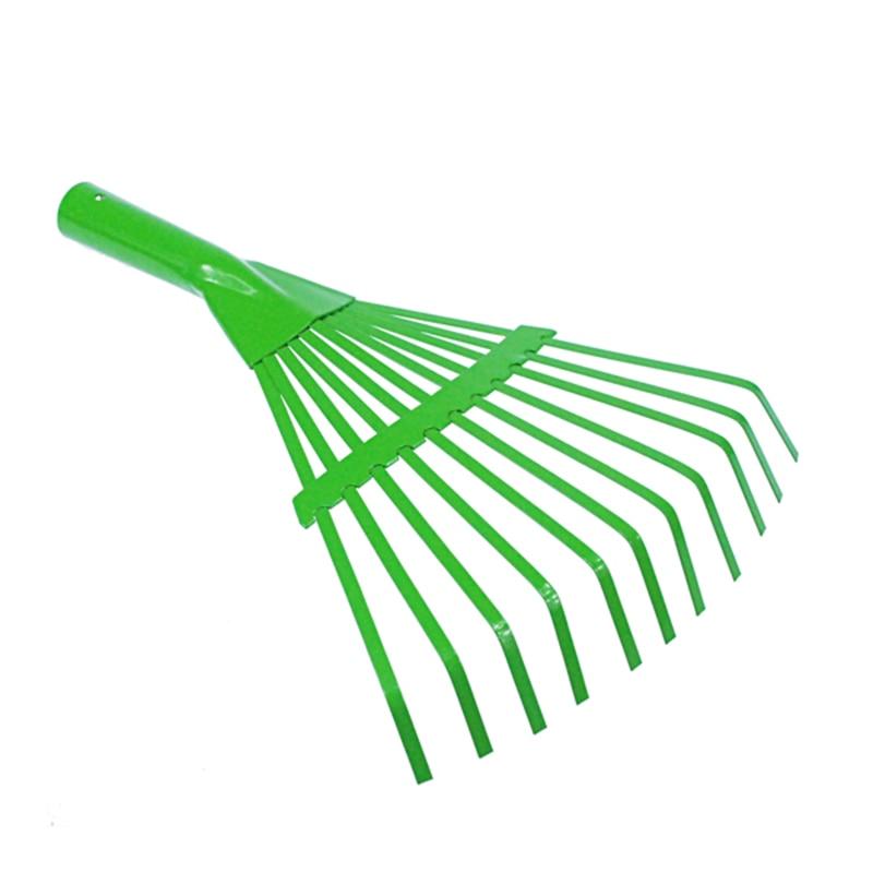 11Teeth Plastic Garden Rake Head Lawn Grass Leaf Hand Gardening Tool11Teeth Plastic Garden Rake Head Lawn Grass Leaf Hand Gardening Tool