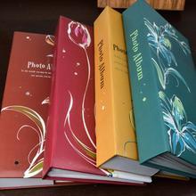 4R/4*6 дюймов 300 карманов фотоальбом пленка бумага фото картина чехол для хранения Альбом Книга домашний Декор подарок фотоальбомы чехол для картины
