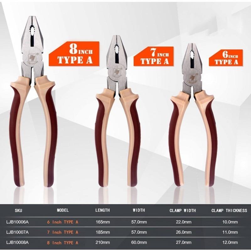 Купить с кэшбэком LIJIAN 6/7/8 Inch Long Nose Pliers Multifunction Wire Stripper Cutter Pliers Diagonal Pliers Repair DIY Hand Crimping Tool Kit