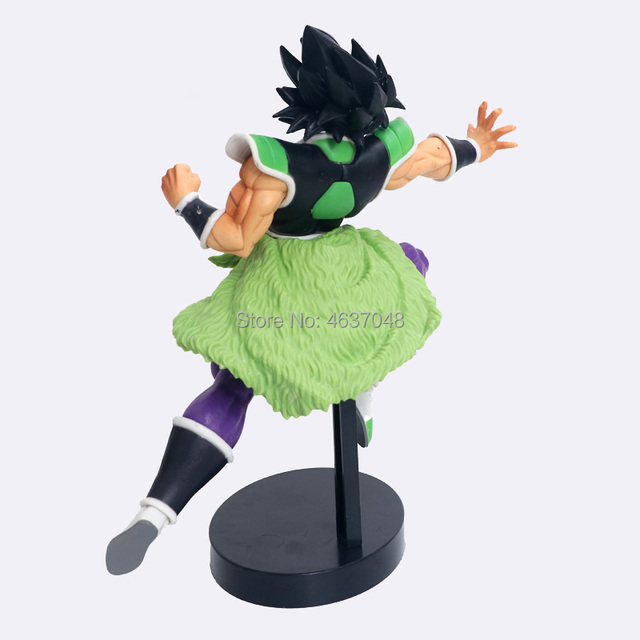 23CM Dragon Ball Z Super Ultimate Soldiers The Movie Broly Figurine PVC Action Figure Collectible Model