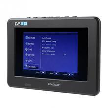 LEADSTAR 7 дюймов ТВ HD TFT светодиодный экран мини Мобильный автомобиль цифровой ТВ Питьевая поддержка DVB-T DVB-T2 ATSC ISDB Телевидение USB TF карта