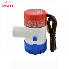 MKBP-G1100-12 Bilge Pump 12V with CFS-12 Bilge Switch 12V Used In Boat Seaplane Motor Homes Houseboat Submersible china factory mkbp g3500 12 24 12 24v 3500gph water pump battery operated bilge pump with boat marine motor homes