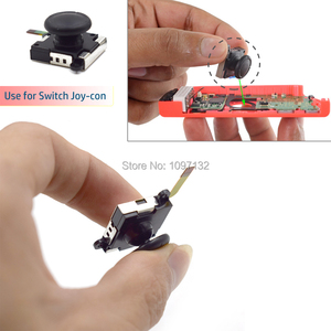 Image 2 - 3D Analog Joycon Joystick Thumb Sticks Sensor Replacements Accessories For Nintend Switch Joy Con Controller Housing w/ Tool Kit