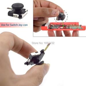 Image 2 - 3D אנלוגי אגודל מקל עבור Nintendo מתג לשמחה קון ג ויסטיק חיישן מודול תיקון כלי עבור JoyCon החלפה
