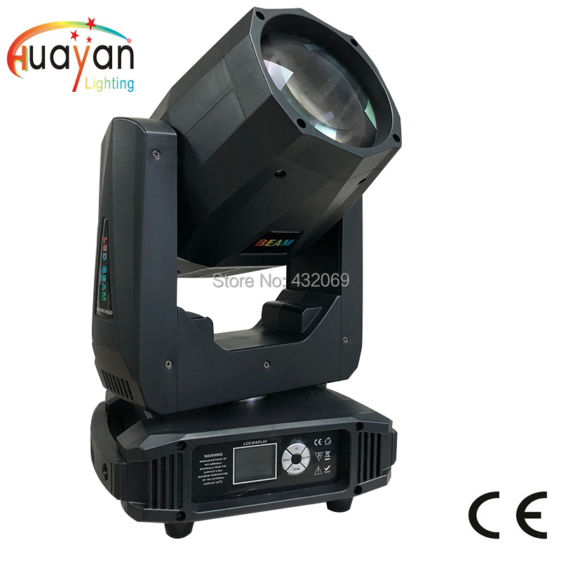 2018 The Newest 200W LED Beam Moving Head Light with gobos 2 prisms for DJ Disco Nightclub Party narrow beam and small size