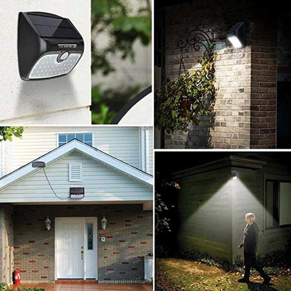 Три-в-одном режим переключателя Сплит Тип светодиодный солнечный свет индукции человеческого тела садовые водонепроницаемые светильники Настенный светильник уличные лампы