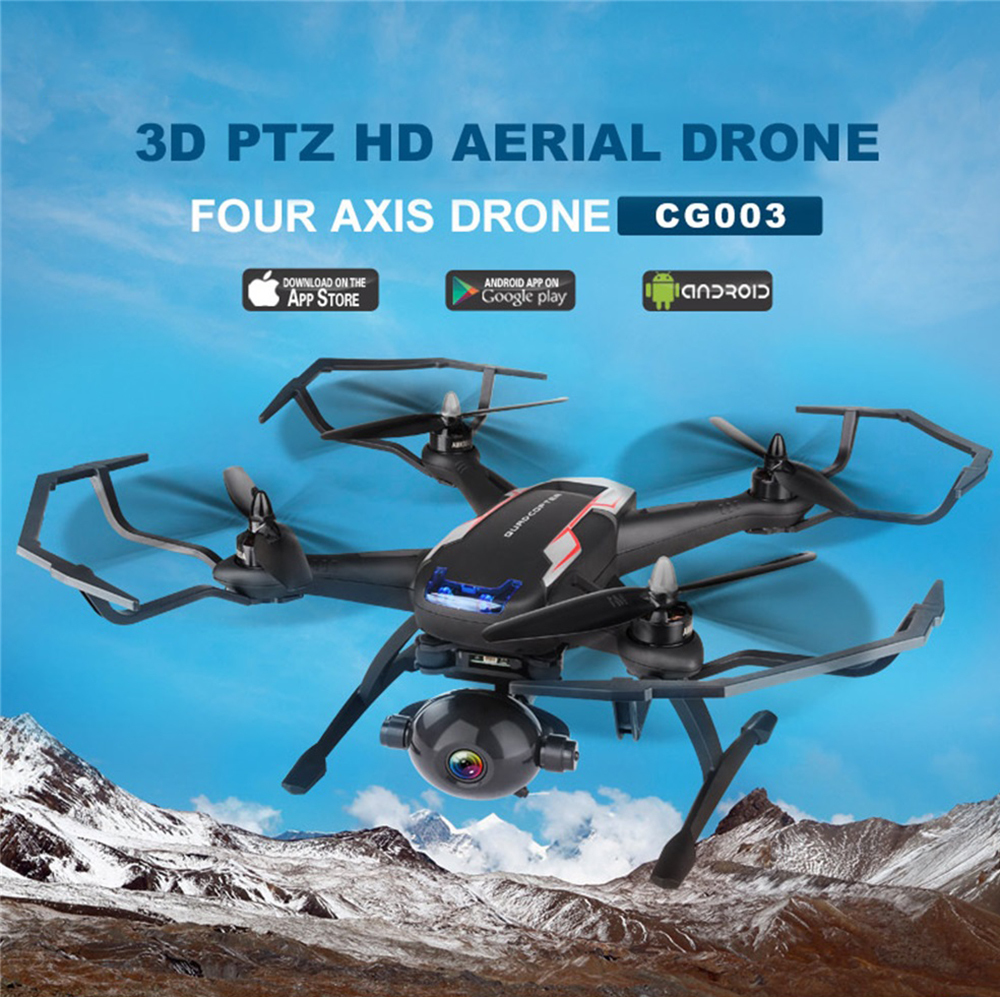 Aosenma CG003 Brushless Dual GPS FPV 1080P HD Gimbal Camera Follow Me Headless Mode RC Drone Quadcopter Vs Cg035 Bayang toys X21