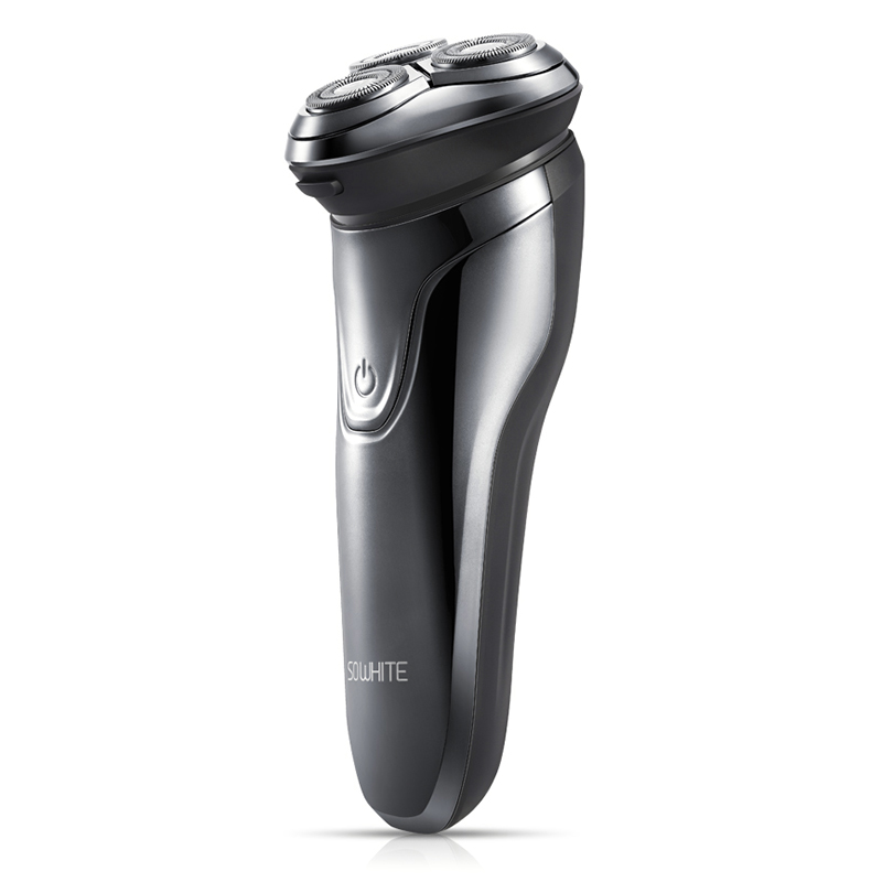 Image 5 - XIAOMI Soocas SO WHITE ES3 3D Smart Electric Shaver USB 3 Head Electric Razor Shaver LED Display Beard Trimmer Shaving Machine-in Electric Shavers from Home Appliances