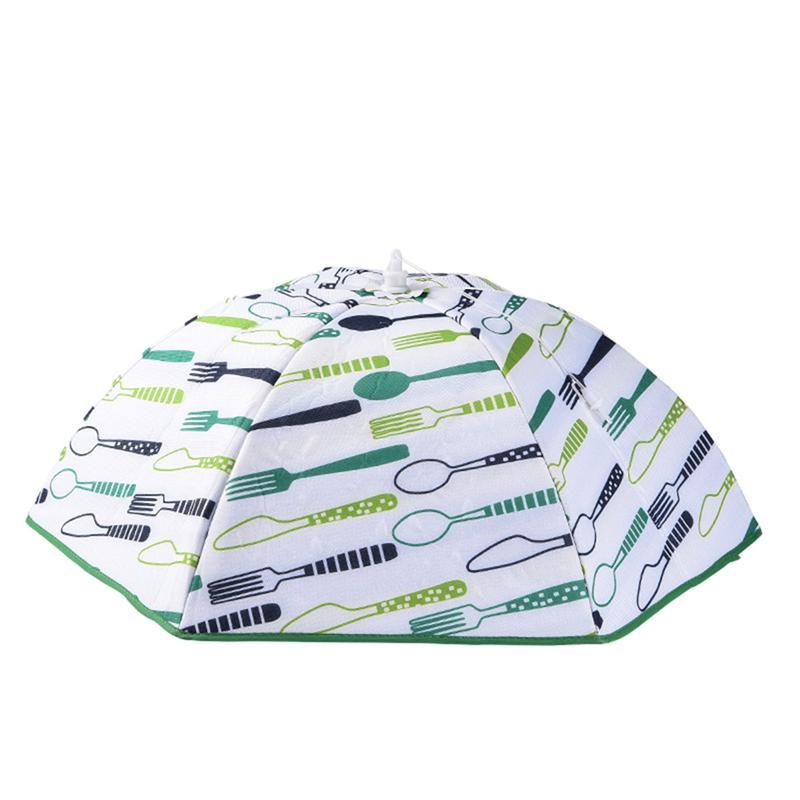 1 Pc Accessori Da Cucina Cibo Copertura Dell'ombrello Di Picnic Barbecue Partito Antipolvere Coperchio Piatto Di Cibo Tenda Anti Fly Zanzara Coperture Per Alimenti