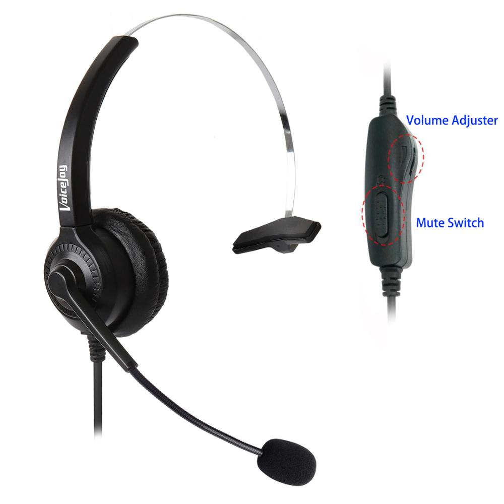 US $16 79 30% OFF|Office Volume and Mute Headset with Mic ONLY for CISCO IP  Phones 7940 7960 7970 7821 7841 7861 8841 8851,8861 8941,8945,8961 etc-in