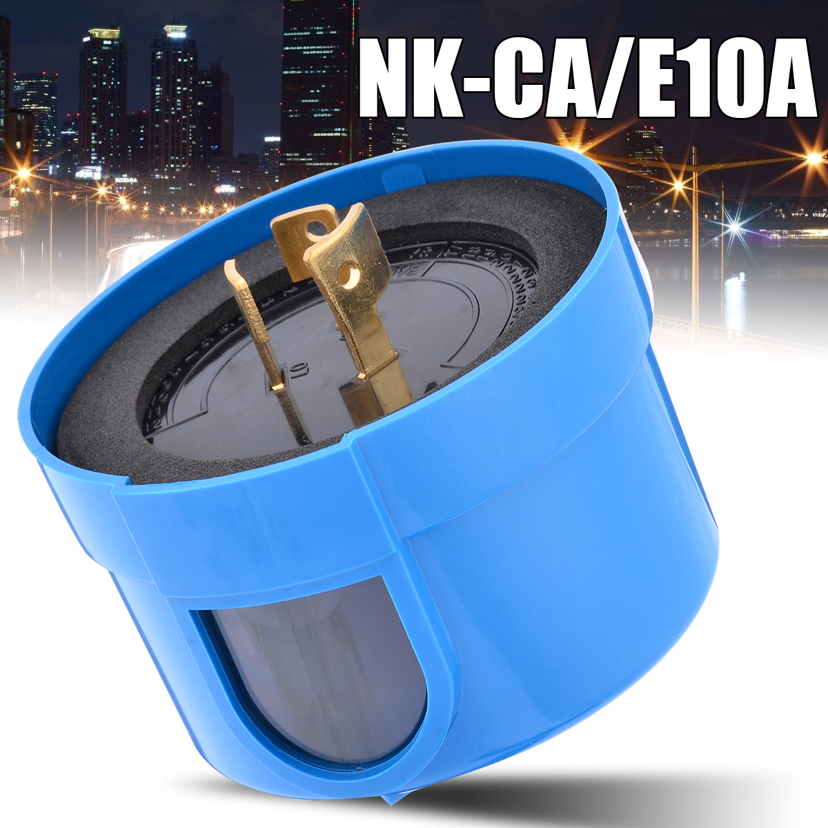 1pc NK-CA/E10A Dusk To Dawn Photoelectric Sensor Switch Photocell Control Photocell Sensor Switches Outdoor Photoswitch
