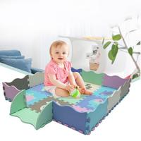 30*30 Soft Developing Crawling Rugs EVA Non slip Waterproof Anti collision Children's Mat Early Childhood Educational Toy