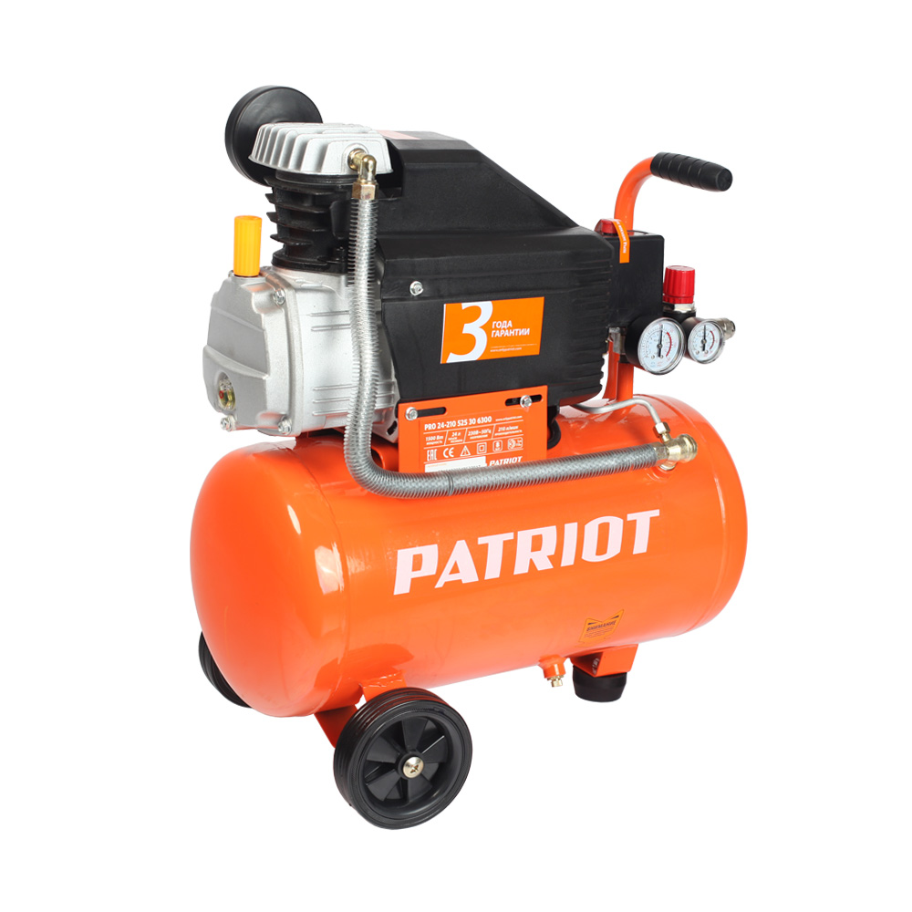 Compressor electric PATRIOT PRO 24-210 the compressor r134a qd65h 155w
